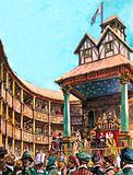 Theatre in Tudor times, 16th Century