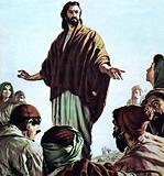 Jesus Teaches the People to Pray