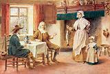 Isaac Walton at home