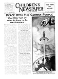 Peace with the German people