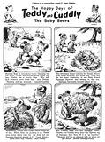 Teddy and Cuddly. Comic strip from Jack and Jill, 4 May 1957