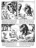 Teddy and Cuddly. Comic strip from Jack and Jill, 25 May 1957.