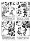 Teddy and Cuddly. Comic strip from Jack and Jill, 29 June 1957.
