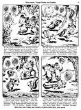 Teddy and Cuddly. Comic strip from Jack and Jill, 3 August 1957.