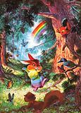 The Rainbow-Coloured Rabbit