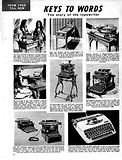 From Then Till Now: Keys to Words –  the story of the Typewriter