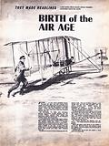 They Made Headlines: Birth of the Air Age