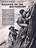 Disaster on the Matterhorn, Edward Whymper