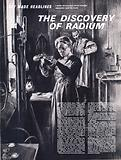 They Made Headlines: The Discovery of Radium