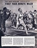 They Made Headlines: The Four-Minute Mile –  Roger Bannister