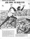 Moments That Made History: Jesse Owens –  The Golden Flyer