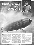 Moments That Made History: Record Flight of the R.34