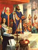 The Wonderful Story of France: Charlemagne Begins the Holy Roman Empire