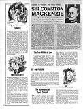 A Guide to Writers and Their Work: Sir Compton Mackenzie