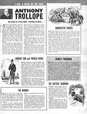 A Guide to Writers and Their Works: Anthony Trollope