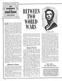 The Romance of the English Theatre: Between Two World Wars