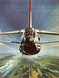 Famous Aircraft and Their Pilots: Chance-Vought F8U Crusader –  Lieutenant John H. Glenn.
