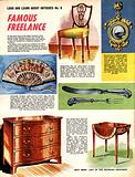 Look and Learn About Antiques: Famous Freelance
