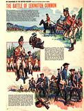 My Scrapbook of the British Soldier: The Battle of Lexington Common