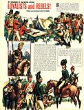 My Scrapbook of the British Soldier: Loyalists and Rebels!