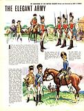My Scrapbook of the British Soldier: The Elegant Army