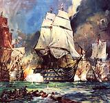 Famous Ships: HMS Victory at the Battle of Trafalgar