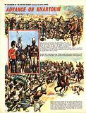 My Scrapbook of the British Soldier: Advance on Khartoum