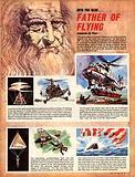 Into the Blue: Father of Flying –  Leonardo da Vinci