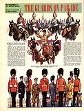 My Scrapbook of the British Soldier: The Guards on Parade