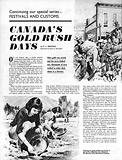 Festivals and Customs: Canada's Gold Rush Days