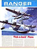Into the Blue: 'Pick-a-back' Plane