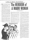 True Adventure: The Heroism of a Maori Woman