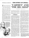 The Story of Opera: 'Carmen' and 'The Big Shop'