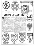Signs of Saving