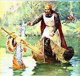 Famous Partnerships: Arthur and Excalibur
