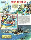 Scrapbook of the British Sailor: Victory at Vigo Bay