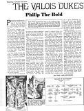 The Valois Dukes: Philip the Bold