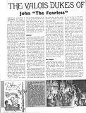 The Valois Dukes of Burgundy: John the Fearless