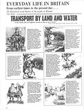 Everyday Life in Britain: Transport by Land and Water