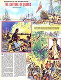 Scrapbook of the British Sailor: The Capture of Quebec