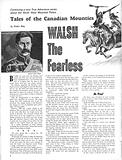 Tales of the Canadian Mounties: Walsh the Fearless