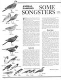 Animal Families: Some Songsters