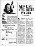 When Kings Were Bought and Sold