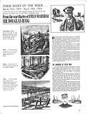 Their Diary of the Week: Field Marshal Sir Douglas Haig