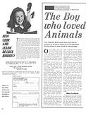 The Boy Who Loved Animals