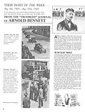 Their Diary of the Week: Arnold Bennett