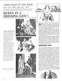 Their Diary of the Week: Queen in a Dressing Gown