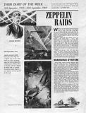 Their Diary of the Week: Zeppelin Raids