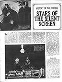 History of the Cinema: Stars of the Silent Screen