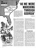 "The Making of America: ""As We Were Marching Through Georgia"""